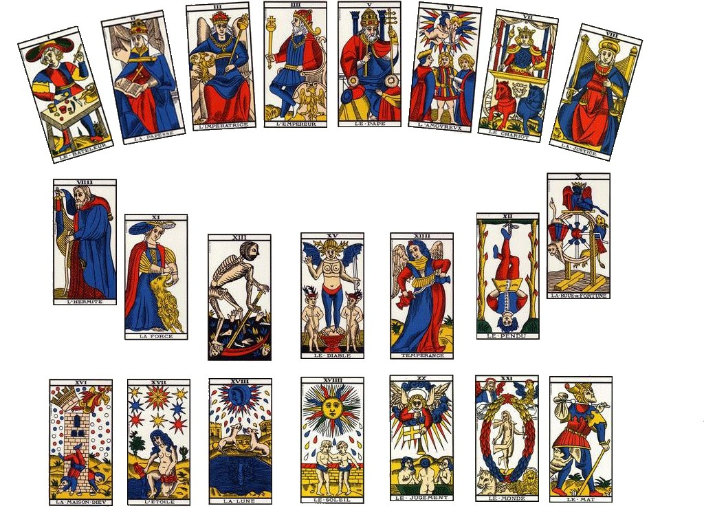 carte du tarot divinatoire L'Empereur