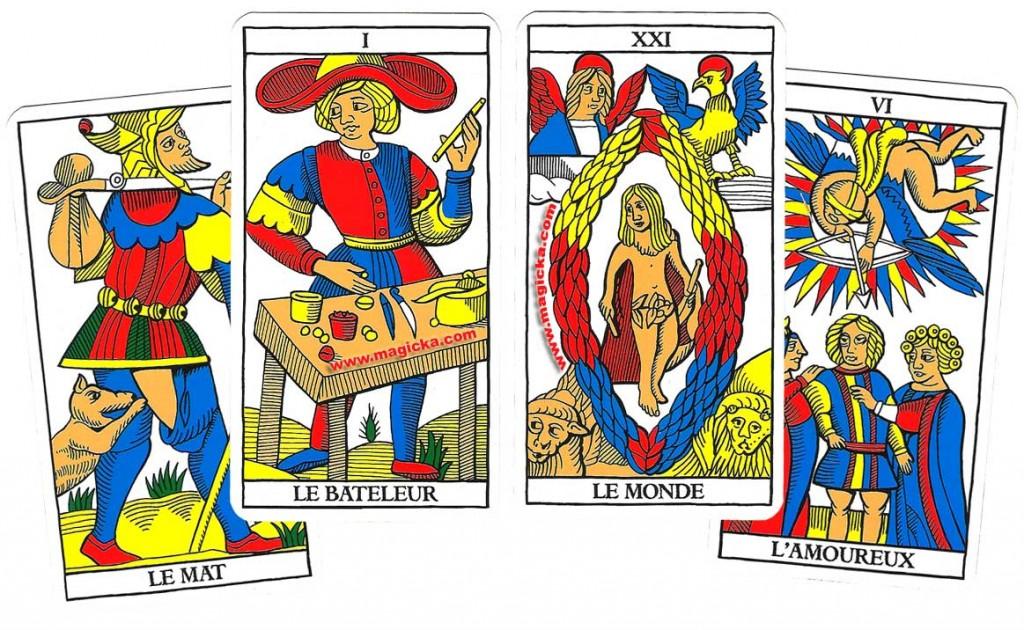 carte du tarot divinatoire Le Bateleur