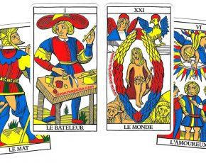 Carte Tarot Divinatoire.Carte Du Tarot Divinatoire De L Hermite