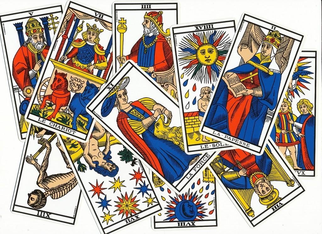 carte du tarot divinatoire Le Pape