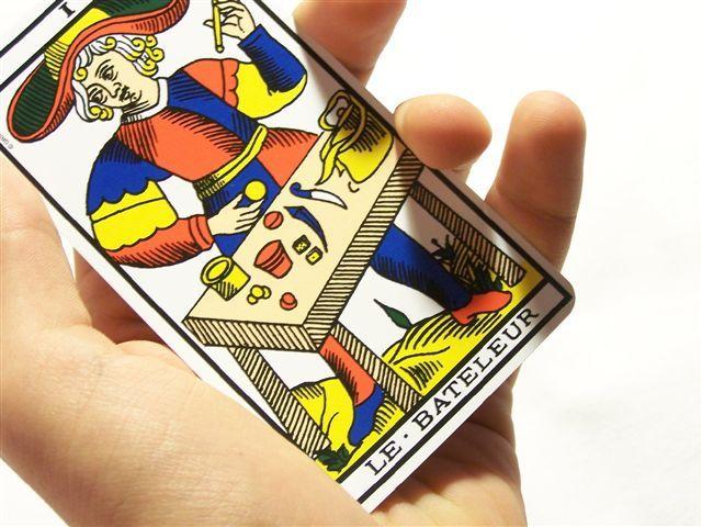 carte du tarot divinatoire du Bateleur