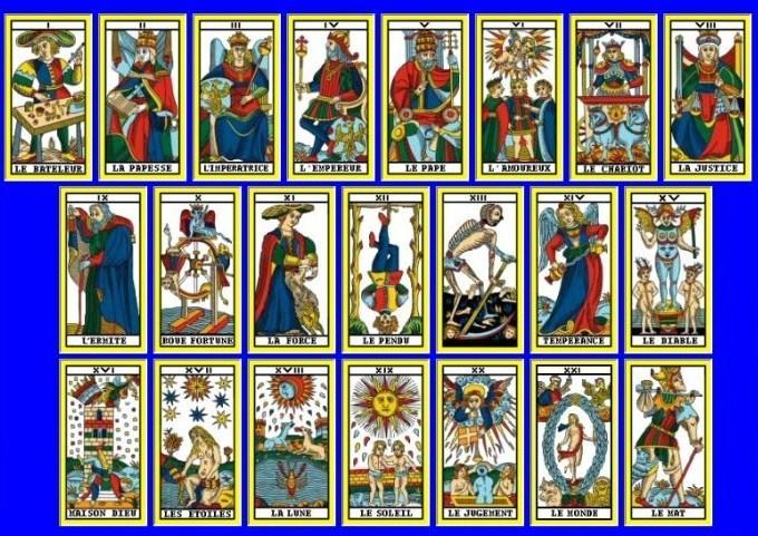 carte du tarot divinatoire l'Amoureux