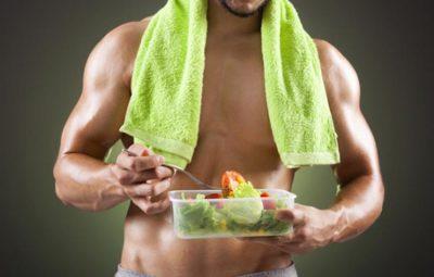 les muscles et l'alimentation